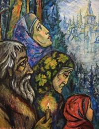 City of Kitezh painting