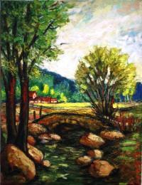 The Bridge painting